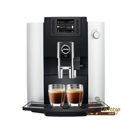 《Jura》家用系列 E6全自動咖啡機●贈上田/曼巴咖啡5磅●