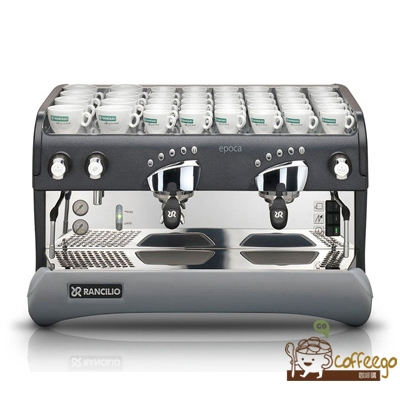 義大利【Rancilio】EPOCA E2 2GR Clever 雙孔半自動咖啡機