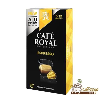 【Cafe Royal】芮耀咖啡膠囊 Espresso義式濃縮(100顆入)