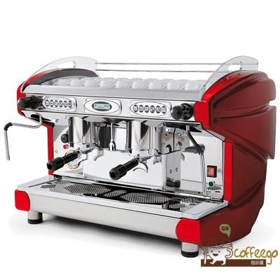 義大利原裝進口【BFC】LIRA 2GR 雙孔子母鍋半自動咖啡機