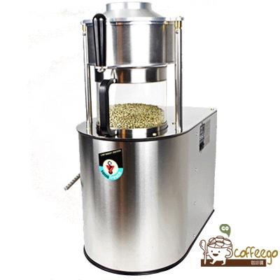 美國原裝【sonofresco】浮風式電腦烘焙機 / 1kg / 銀色