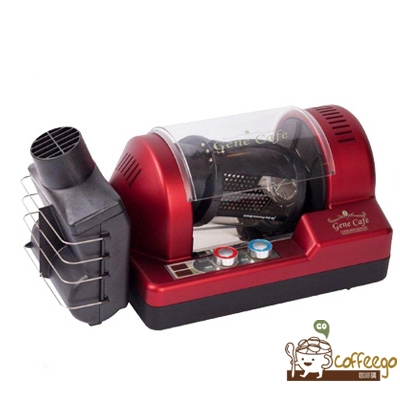 【Gene Cafe】 COFFEE BEAN ROASTER 咖啡生豆烘焙機 CBR-101 -紅色 附大型銀皮收集盒