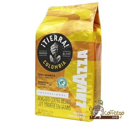 義大利【LAVAZZA】TIERRA COLOMBIA 咖啡豆(1000g)