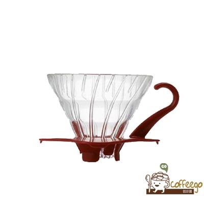 《HARIO》V60白色玻璃濾杯 / 1~2杯 / VDG-01R