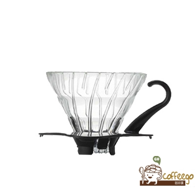 《HARIO》V60白色玻璃濾杯 / 1~2杯 / VDG-01B