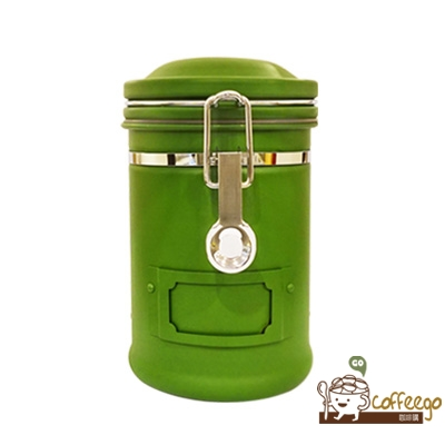 《EARTH》不鏽鋼密封罐 260g 綠色