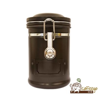《EARTH》不鏽鋼密封罐 260g 深咖啡色