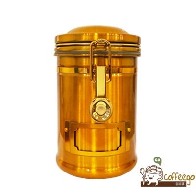 《EARTH》不鏽鋼密封罐 260g 亮銅色
