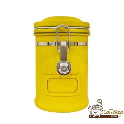 《EARTH》不鏽鋼密封罐 260g 黃色