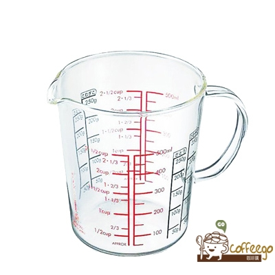《HARIO》玻璃手把量杯500 / CMJW-500