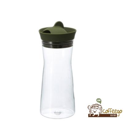 【HARIO】Gmark墨綠色冷水壺700ml / WJ-7-OG