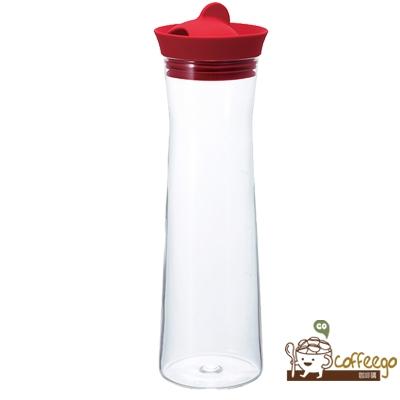 《HARIO》Gmark酒紅色冷水壺1000ml / WJ-10-R