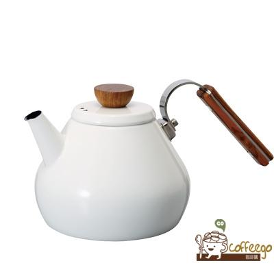 《HARIO》Bona琺瑯茶壺 BTK-80-W 800ml