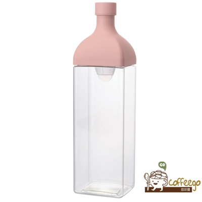 【外盒受損折扣】HARIO 方型1200冷泡茶壺 1200ml 粉色 / 粉綠 二色可選