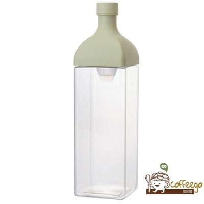 《HARIO》方型綠1200冷泡茶壺 KAB-120-SG 1200ml