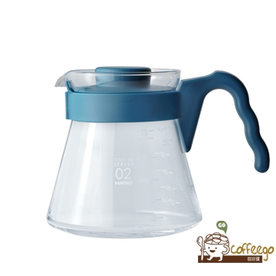 《HARIO》好握02吳須色咖啡壺700ml VCS-02-PBU