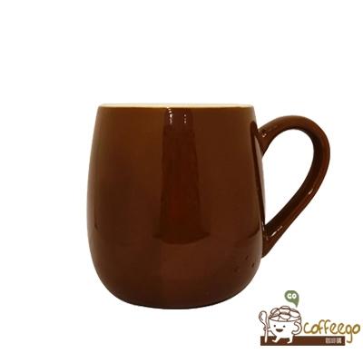 可朵馬克杯 450ml 咖啡色