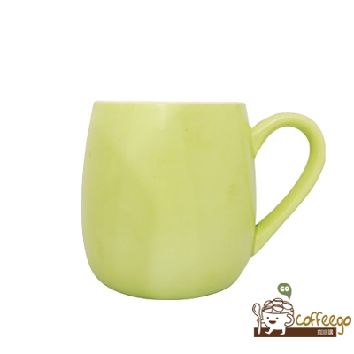 可朵馬克杯 450ml 淺綠色
