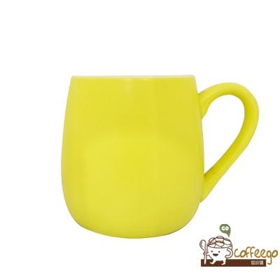 可朵馬克杯 450ml 黃色