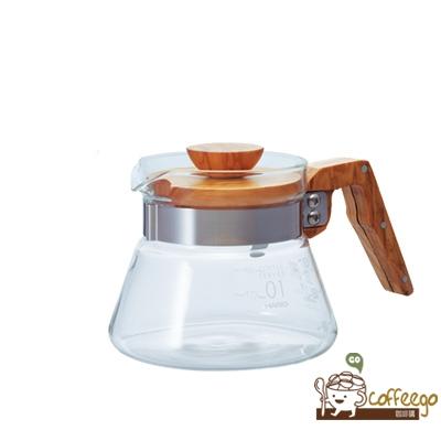 《HARIO》V60橄欖木40好握咖啡壺 / VCWN-40-OV / 400ml