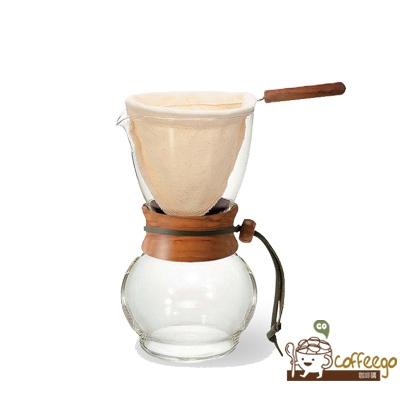【HARIO】濾布欖橄木手沖咖啡壺480ml / 3~4杯 / DPW-3-OV