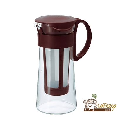 【HARIO】迷你咖啡色冷泡壺600ml / MCPN-7CBR