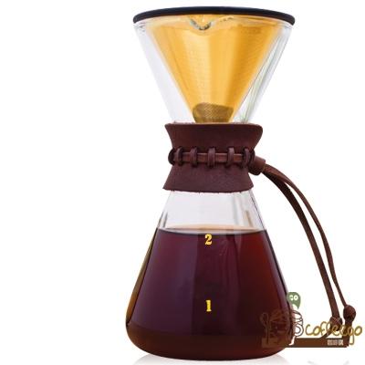 《AKIRA》不鏽鋼濾網手沖咖啡組 DPG-1M-TI