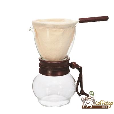 《HARIO》濾布手沖咖啡壺3~4杯 DPW-3
