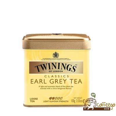 英國【TWININGS 唐寧】 EARL GREY TEA 皇家伯爵茶罐500g