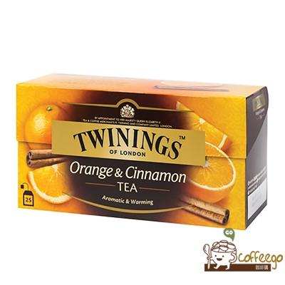 英國【TWININGS 唐寧】Orange & Cinnamon香橙肉桂茶