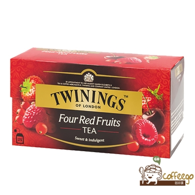 英國【TWININGS 唐寧】Four Red Fruits 四紅果茶