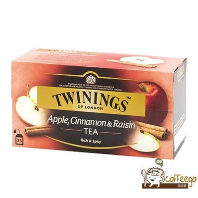 英國【TWININGS 唐寧】Apple, Cinnamon & Raisin 異國香蘋茶