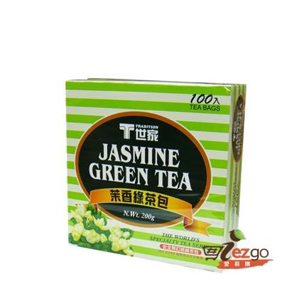 《T世家》茉香綠茶包2g*100入