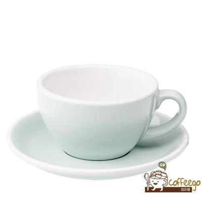 【LOVERAMICS 愛陶樂 】Egg 拿鐵咖啡杯盤組 200ml River Blue 水藍色