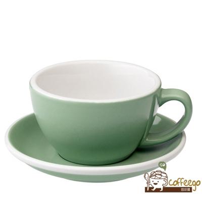【LOVERAMICS 愛陶樂 】Egg 拿鐵咖啡杯盤組 300ml Mint 薄荷