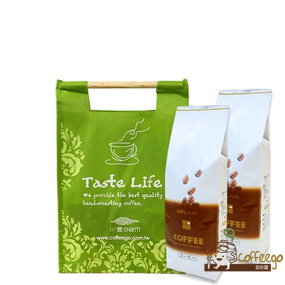《上田》藍山咖啡(1磅)+曼巴咖啡(1磅) ▇附提袋▇