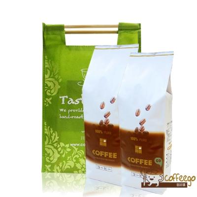 《上田》藍山咖啡(1磅)+曼特寧咖啡(1磅) ▇附提袋▇