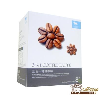 ♥上田奶茶小屋♥ 三合一特調咖啡 3 in 1 coffee latte// 28g×8包