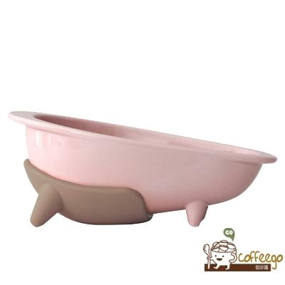 《HARIO》長嘴犬專用櫻花粉磁碗 PTS-WP-PPR 150ml