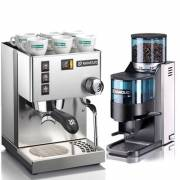 義大利【Rancilio】SILVIA咖啡機 + ROCKY磨豆機超級組合