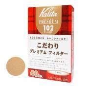【Kalita】102 無漂白咖啡濾紙 (#13141) 40枚入/盒