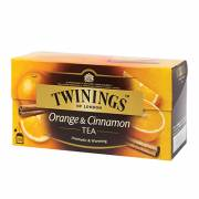 英國【TWININGS 唐寧】Orange & Cinnamon香橙肉桂茶