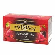 英國【TWININGS 唐寧】Four Red Fruits 四紅果茶